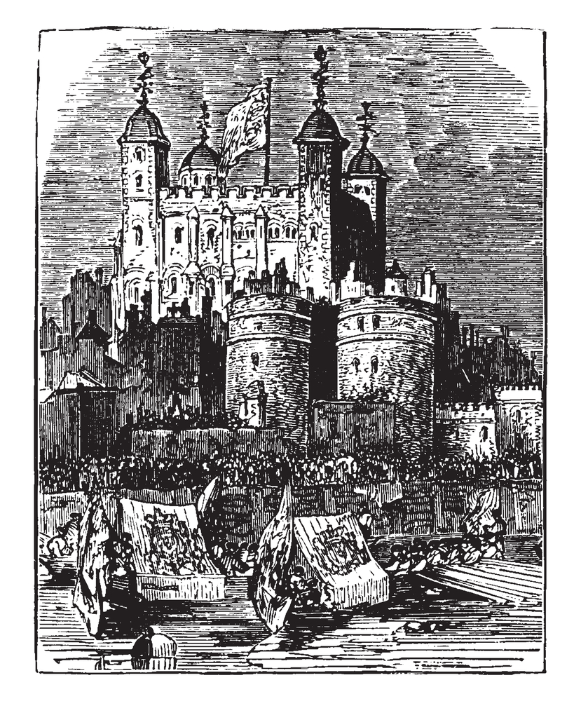 The Tower of London, city where the life of Effie Gray changed