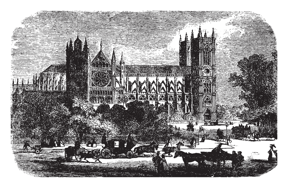 Westminster Abbey, architecture, England, Gothic church, Gothic style, London, where Effie Gray spent part of her life