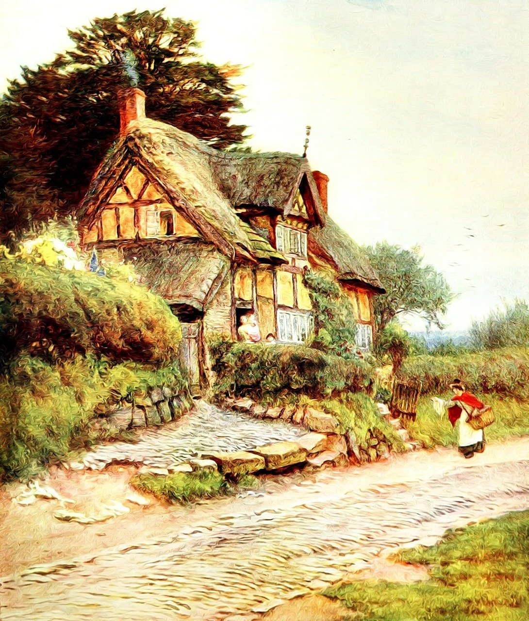 Far From The Madding Crowd Book house style